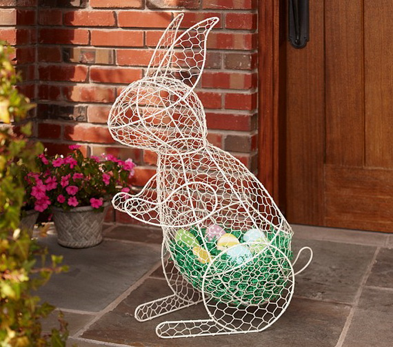 Easter and Spring Door Decoration Ideas_65
