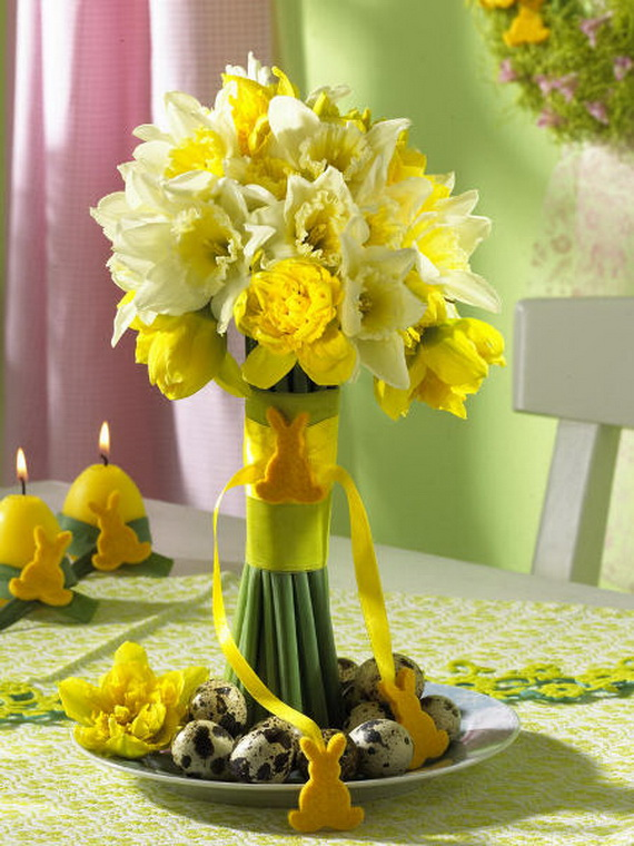 Elegant Easter Decor Ideas For An Unforgettable Celebration_40