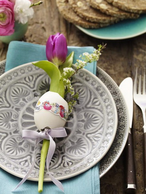 Elegant Easter Decor Ideas For An Unforgettable Celebration_55