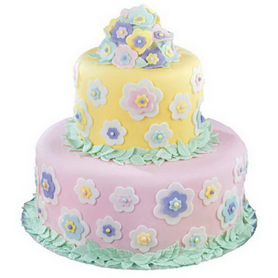 Fabulous Easter Wedding Cake Ideas & Designs_09