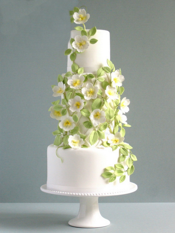Fabulous Easter Wedding Cake Ideas & Designs_13 (2)
