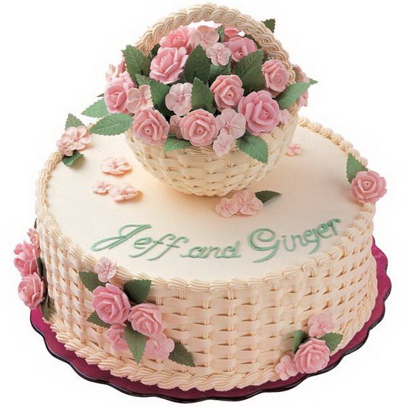 Fabulous Easter Wedding Cake Ideas & Designs_16
