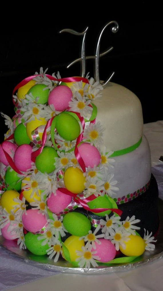 Fabulous Easter Wedding Cake Ideas & Designs_2