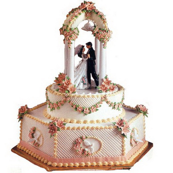 Fabulous Easter Wedding Cake Ideas & Designs_23