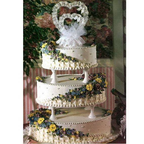 Fabulous Easter Wedding Cake Ideas & Designs_27