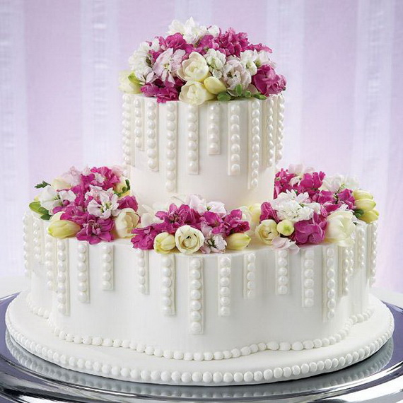 Fabulous Easter Wedding Cake Ideas & Designs_31