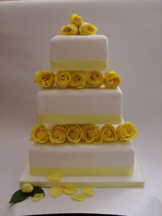 Fabulous Easter Wedding Cake Ideas & Designs_6