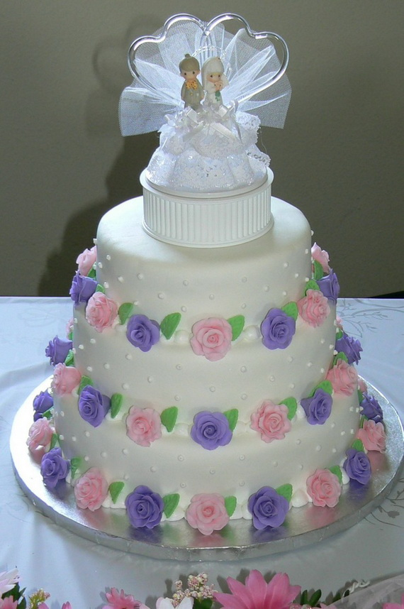 Fabulous Easter Wedding Cake Ideas & Designs_7