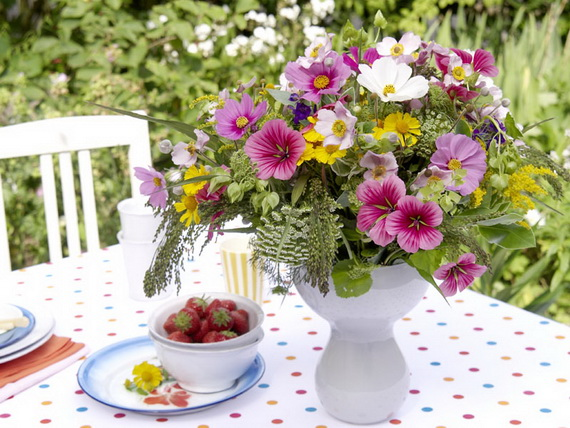 Flower Decoration Ideas To Celebrate Spring Holidays _06