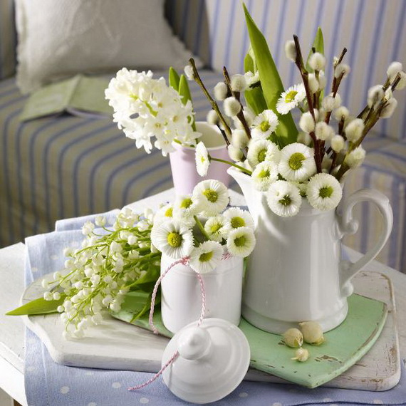 Flower Decoration Ideas To Celebrate Spring Holidays _22