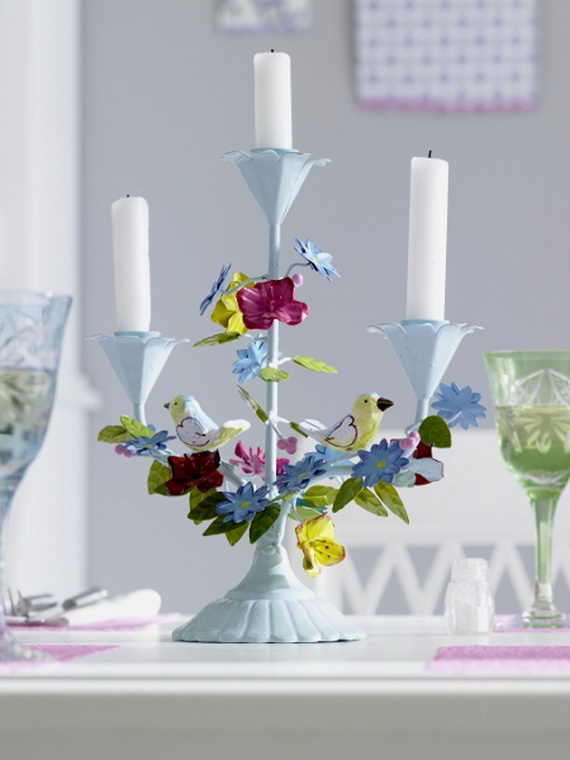 Flower Decoration Ideas To Celebrate Spring Holidays _25