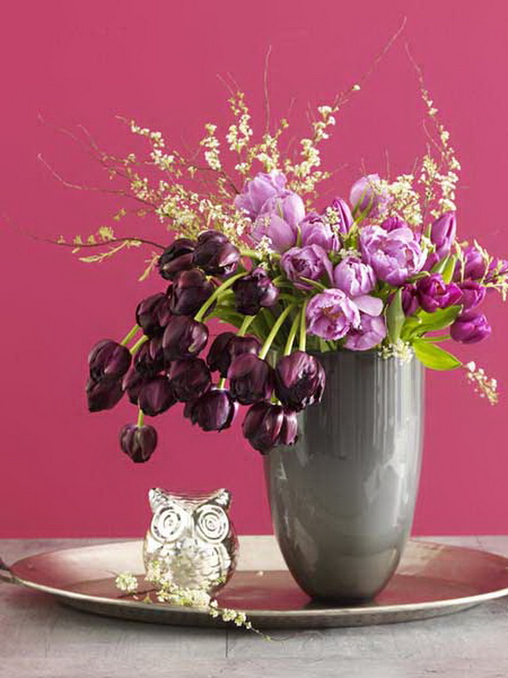 Flower Decoration Ideas To Celebrate Spring Holidays _31