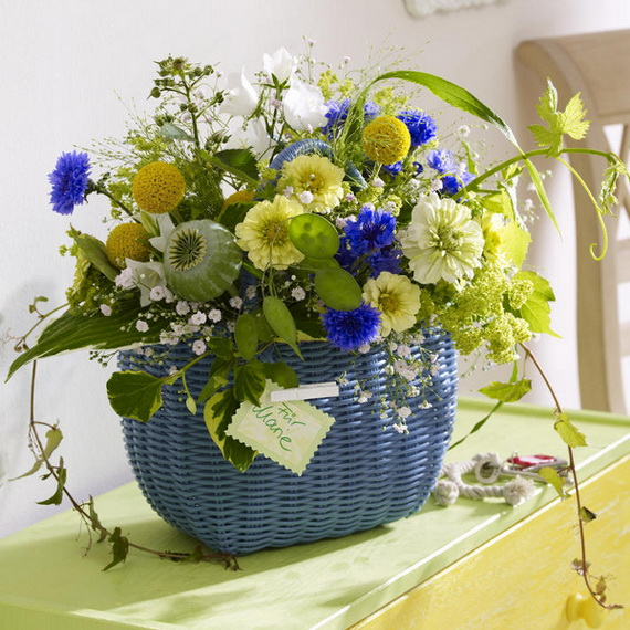 Inspired Yellow Spring Craft and Home Decor Ideas_17