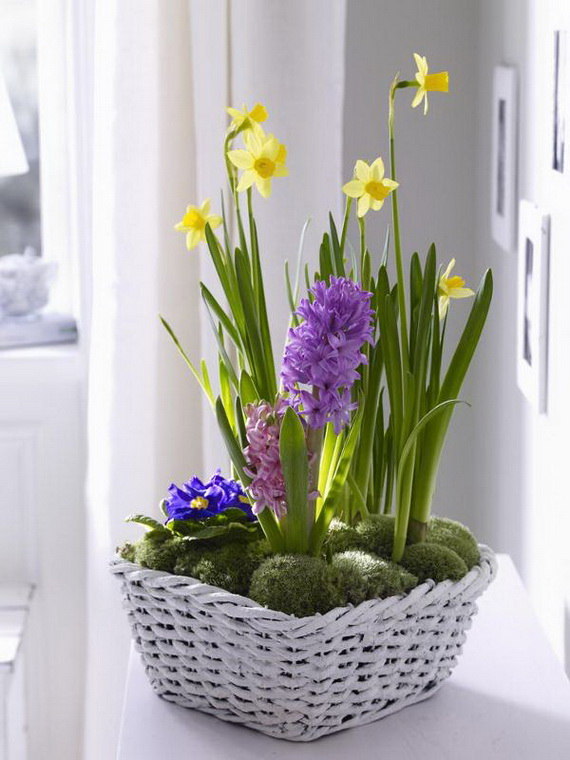 Inspired Yellow Spring Craft and Home Decor Ideas_48