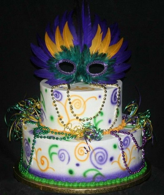 are 60 mardi gras king cake ideas inspirati on on cake central and ...
