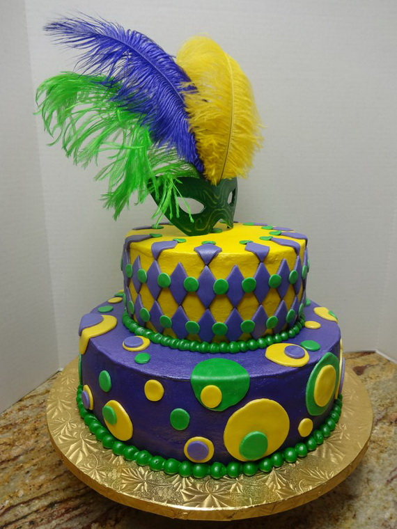 King Cake Decorating Kit : 60 Mardi Gras King Cake Ideas - family holiday.net/guide to family holidays on the internet