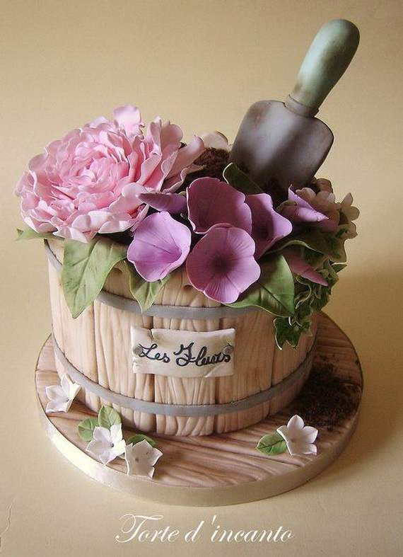 Cake Decor Ideas : 45 Spring Cake and Cupcake Decorating Ideas - family ...