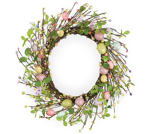 Spring Wreaths - Our Flowers Messengers For Happy Holidays_40