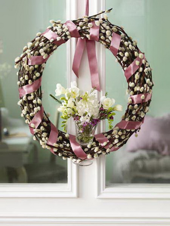 Spring Wreaths - Our Flowers Messengers For Happy Holidays_44