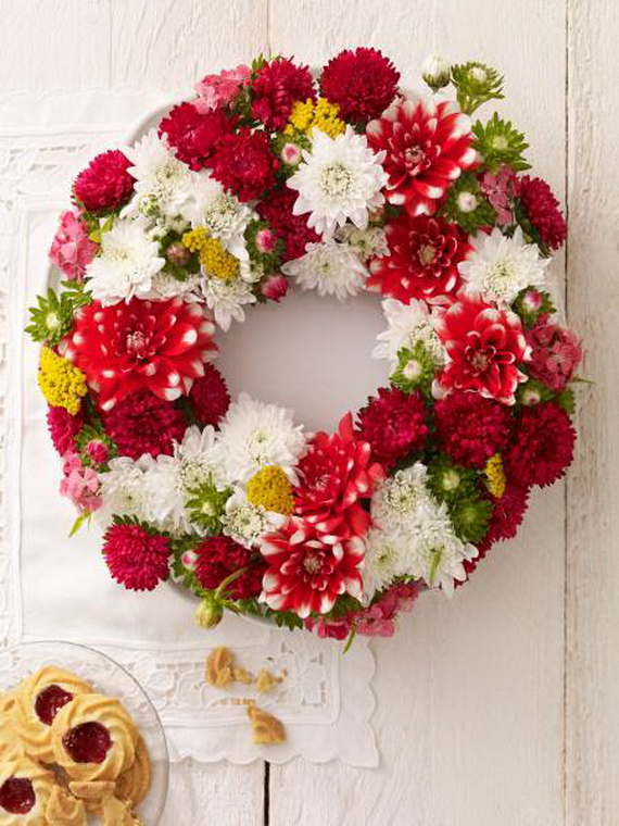 Spring Wreaths - Our Flowers Messengers For Happy Holidays_51