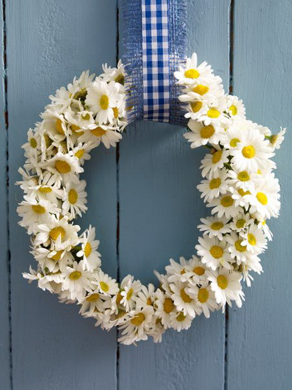 Spring Wreaths - Our Flowers Messengers For Happy Holidays_53