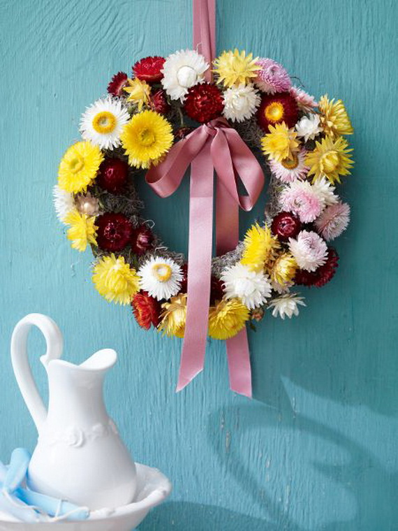 Spring Wreaths - Our Flowers Messengers For Happy Holidays_60