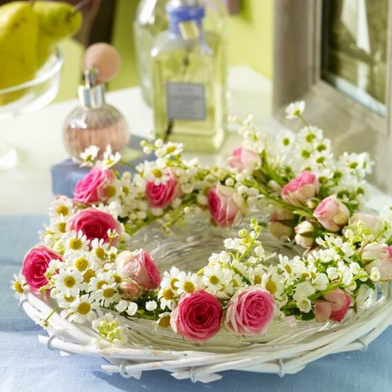 Spring Wreaths - Our Flowers Messengers For Happy Holidays_67