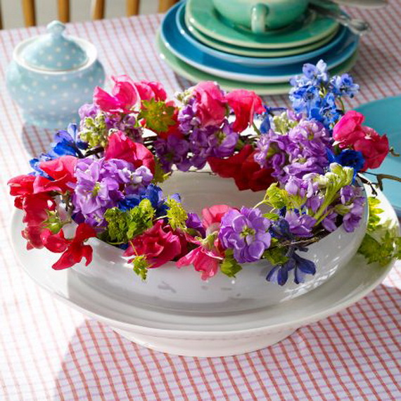 Spring Wreaths - Our Flowers Messengers For Happy Holidays_68