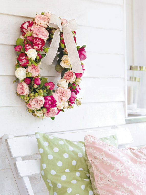 Spring Wreaths - Our Flowers Messengers For Happy Holidays_73