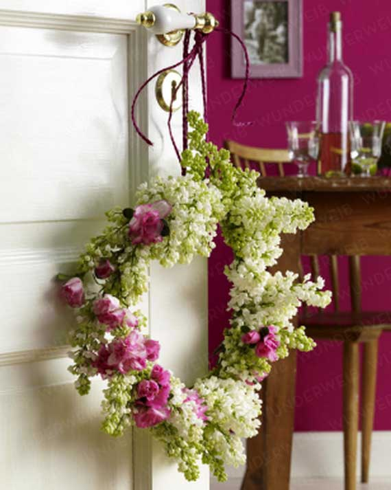 Spring Wreaths - Our Flowers Messengers For Happy Holidays_76