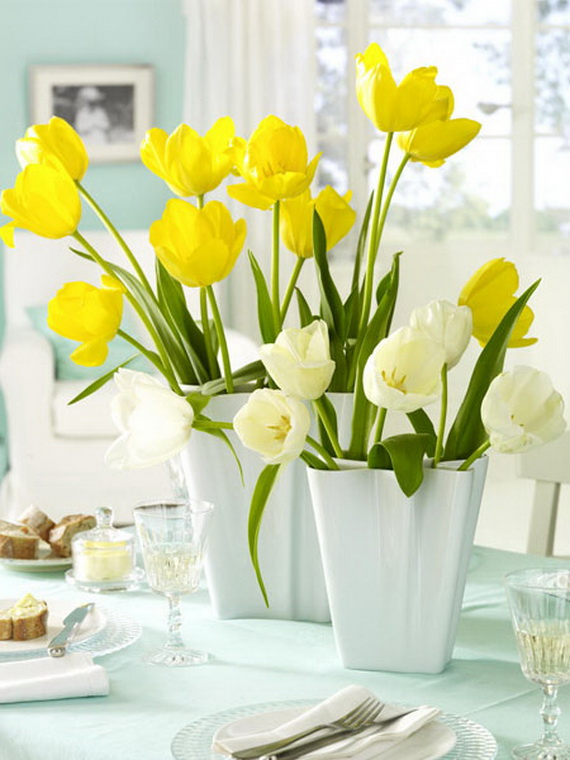 Spring lights on the Easter table _66