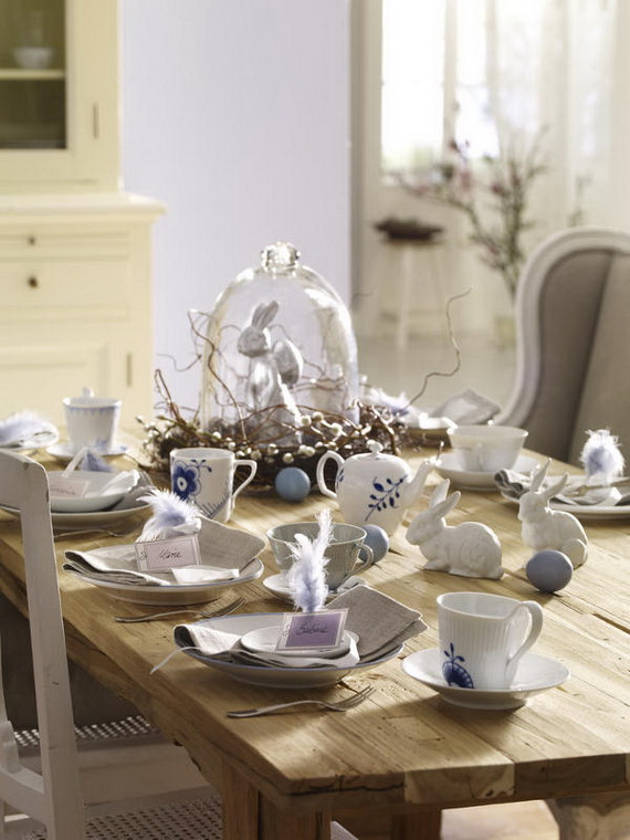 Spring lights on the Easter table _79