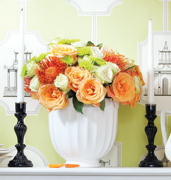 Stylish Spring and Easter 2014 Flower Arrangement Collections _03