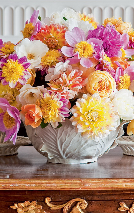 Stylish Spring and Easter 2014 Flower Arrangement Collections _09