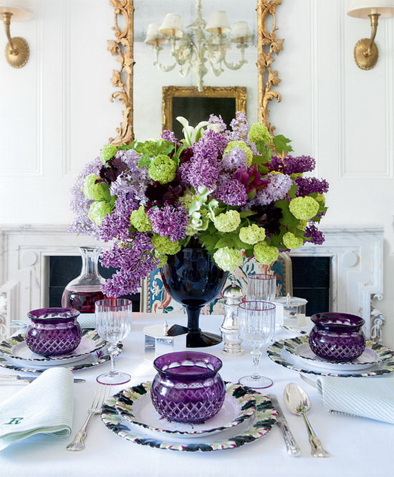 Stylish Spring and Easter 2014 Flower Arrangement Collections _13