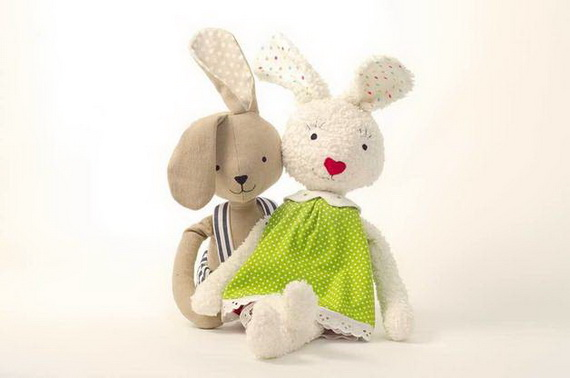 50 Adorable Bunny Craft Ideas To Celebrate The Easter Holiday _05