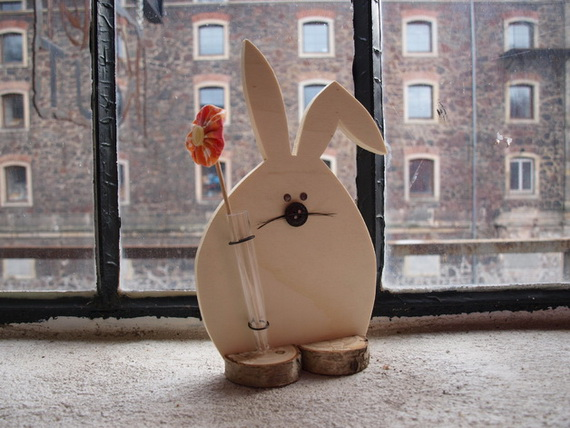 50 Adorable Bunny Craft Ideas To Celebrate The Easter Holiday _23