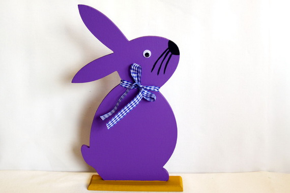 50 Adorable Bunny Craft Ideas To Celebrate The Easter Holiday _27