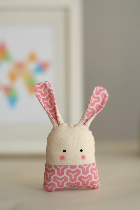50 Adorable Bunny Craft Ideas To Celebrate The Easter Holiday _31