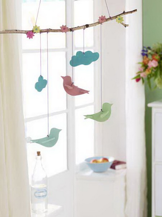 50 Elegant Easter Window Decoration (2)