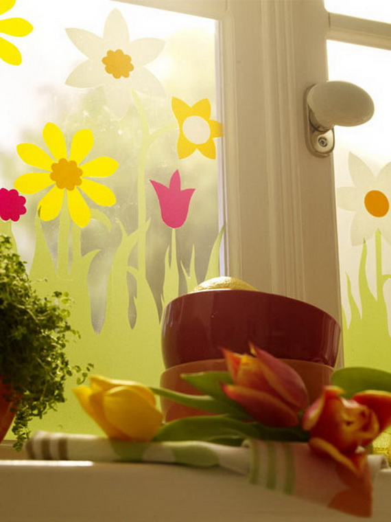 50 Elegant Easter Window Decoration (20)