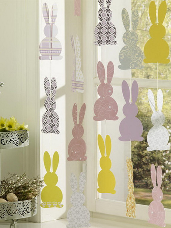 50 Elegant Easter Window Decoration (21)