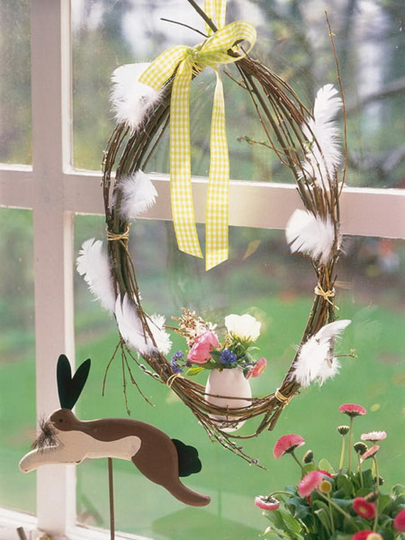 50 Elegant Easter Window Decoration (22)