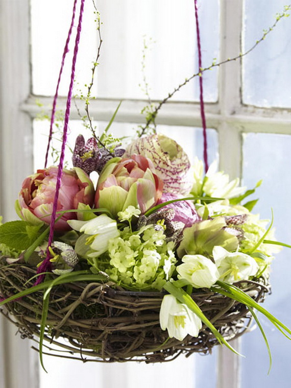 50 Elegant Easter Window Decoration (28)