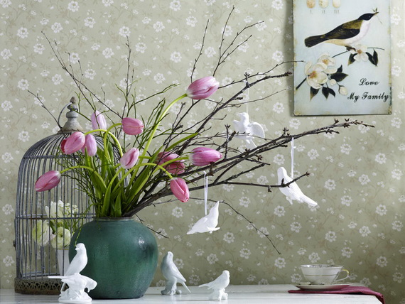 50 Elegant Easter Window Decoration (39)