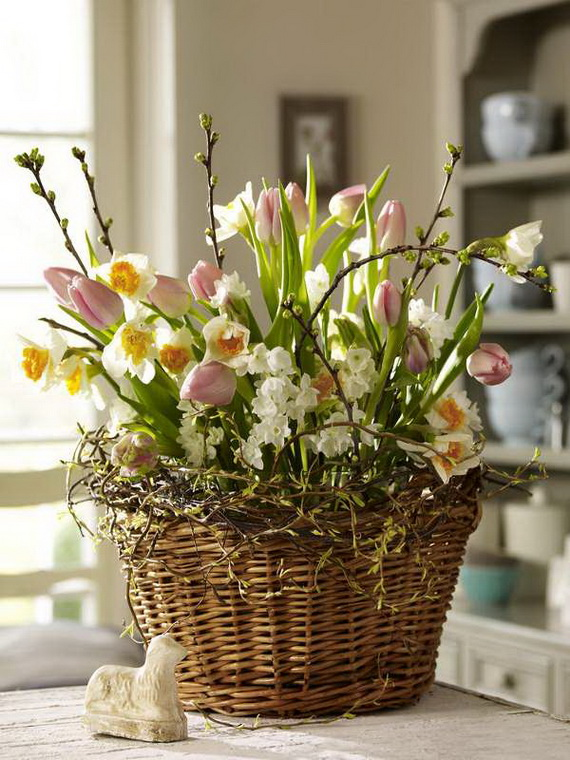 50 Elegant Easter Window Decoration (46)