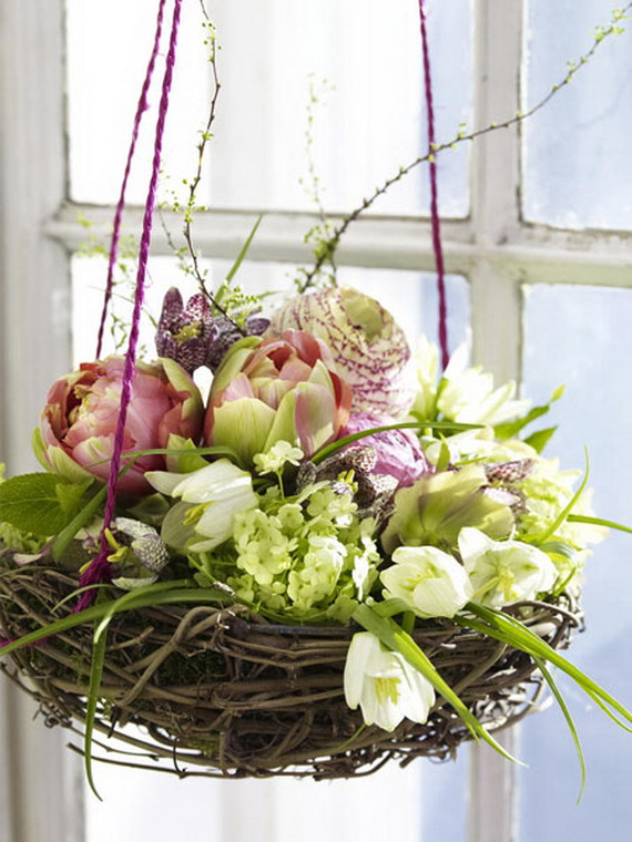 50 Elegant Easter Window Decoration (9)