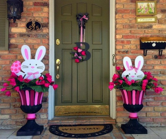 70 awesome outdoor easter decorations for a special holiday family to family. Black Bedroom Furniture Sets. Home Design Ideas