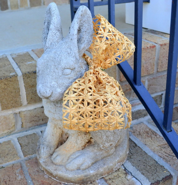 70 Awesome Outdoor Easter Decorations For A Special Holiday_03