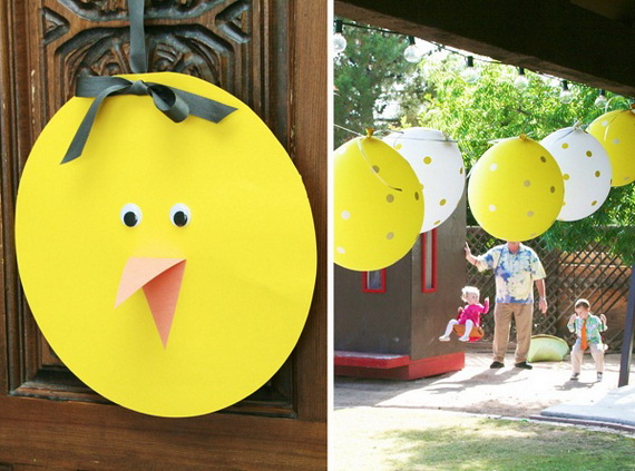 70 Awesome Outdoor Easter Decorations For A Special Holiday_13